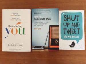 Image of 3 books purchased from Amazon
