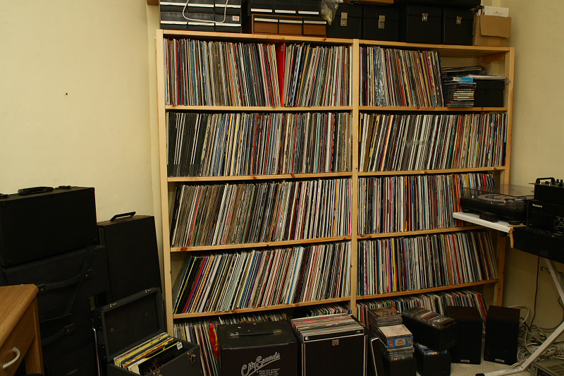 Richard's record collection