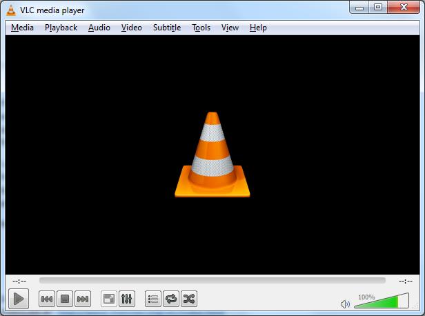 Open VLC Media Player