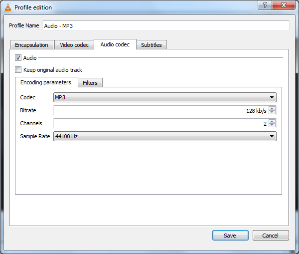 Extract audio from F4V file 8