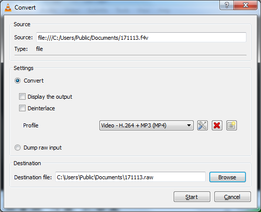Extract audio from F4V file 9