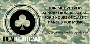 Advert for Idealbootcamp Sunday Show