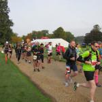 Image of the start of the 9Bar9x9 Ultramarathon