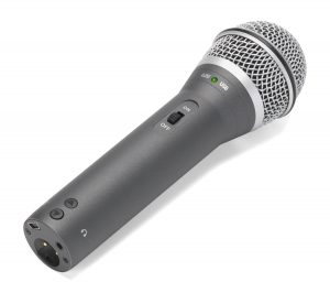 Samson Q2U microphone image